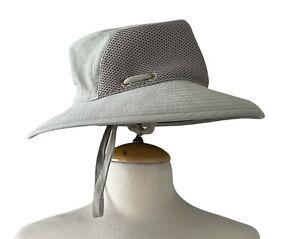 Tilley Organic Mesh Hat Model T7M0 Khaki Olive Made In Canada Sz 7 1/4