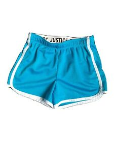 Girls Justice Shorts Blue Size 8