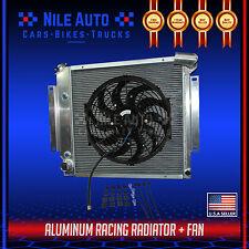 "3 ROW ALUMINUM RADIATOR FOR 70-81 INTERNATIONAL SCOUT II/PICKUP 5.0 V8+ 14"" FAN"