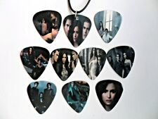VAMPIRE DIARIES Double Sided Guitar Pick Plectrum Necklace Choice of 10