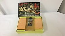 Vintage ARTHUR PHILIPPI, 5th Ave Apple Blossom Set-2 Unopened Soap-Empty Perfume