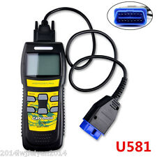U581 CAN OBDII OBD2 Car Scanner LIVE DATA Code Reader Auto Diagnostic Scan Tool