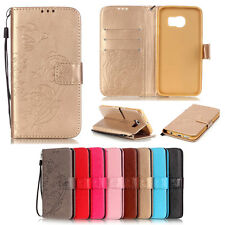 Leather Magnetic Flip stand Card Leather wallet + TPU Case Cover For HuaWei LG