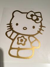 Hello Kitty,car decal/ sticker for windows, bumpers , panels
