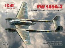 FW 189a-2 WWII German commandements Plane 1:72 ICM 72292 Avion Modélisme