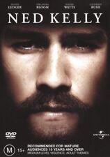 Ned Kelly DVD AUSTRALIAN BIOGRAPHY TRUE STORY Heath Ledger Orlando BRAND NEW R4