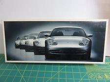 Minichamps Porsche Coupe' History Series Dealer Edition Set of 5 1/43 LE