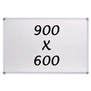 New Magnetic Whiteboard 900 X 600mm Writing Board Commercial 10y Warranty