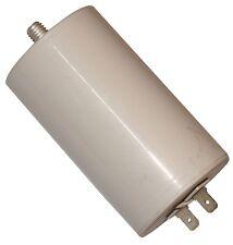 Condensateur permanent de travail pour moteur 30µF 450V avec cosses 6,3mm