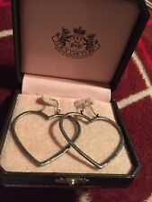 Juicy Couture Heart Earrings NWT