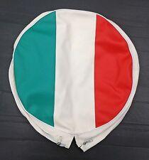 Spare wheel cover Italy flag for Vespa LML & Lambretta