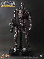 Hot Toys Terminator Salvation T-600 Endoskeleton 1/6  Marting Laing Signature