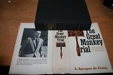 The Great Monkey Trial by L. Sprague de Camp vg/vg matching dates 1968