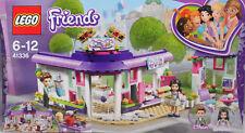 LEGO Friends 41336 Emmas künstlercafé Emma Ethan caisse Machine à café biscuits NEUF