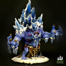 Glacier King colossal Trollbloods hordes ** COMMISSION ** painting
