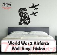 World War 2 Airforce Wall Vinyl Sticker