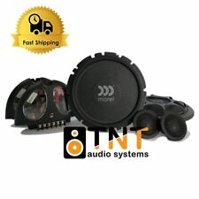 "MOREL VIRTUS NANO 602 2WAY COMPONENT SPEAKER SYSTEM 6.5"" 80W RMS - Brand New !"