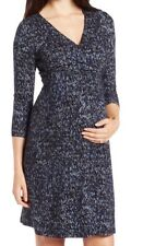 Ripe Maternity Wrap Ballet Sapphire Nursing Dress New Size M MSRP $98