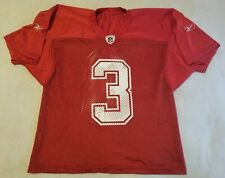 TEAM ISSUED WORN New Orleans Saints #3 RED QB No Contact Reebok Practice Jersey