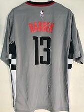 Adidas NBA Jersey Houston Rockets James Harden Grey Short Sleeve sz M