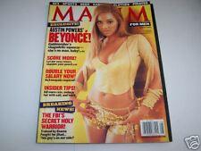 BEYONCE MAXIM Magazine-2002-No Label-Mint Copy
