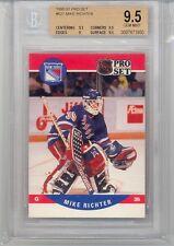 1990 Pro Set Mike Richter (Rookie Card) (#627) BGS9.5 BGS