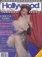 APRIL 1987 HOLLYWOOD STUDIO vintage movie magazine LORETTA YOUNG