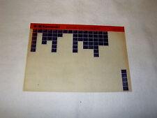 KAWASAKI KH100 KH 100 G5 (KH100EX) GEN PART CATALOGUE MICROFICHE