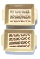 Vintage 2 Micro-Pro Mini Casserole Microwave Oven Proof Dishes Japan