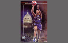 Original CHAMIQUE HOLDSCLAW Washington Mystics WNBA Womens Basketball POSTER