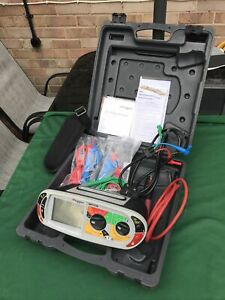 Megger MFT1720 Advanced Installation Tester In Case With Leads