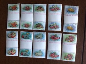 St Kitts 1984. Wildlife Complete Set In Pairs. SG 143-156.