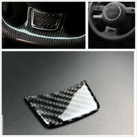 For A4L/A6L/A3/Q3/Q5/Q7 Modified Carbon Fiber Steering Wheel Chin Stickers