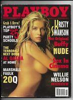 November 2002 Playboy Magazine ~ Kristy Swanson Buffy Cover & Nude VG