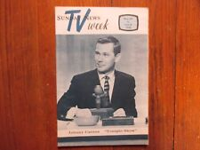 May 29, 1966 Lancaster Pa TV Week Magazine(JOHNNY CARSON/THAT  GIRL/MARLO THOMAS