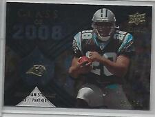 2008 UD Icons Jonathan Stewart Class of 2008 Rookie #CO6 /750 (Panthers)