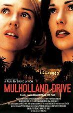 Mulholland Drive Movie Póster (C) : 27.9cm X 43.2cm : Naomi Watts, Laura Harring