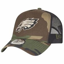 New Era Adjustable Trucker Cap - Philadelphia Eagles camo