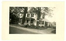 Whippleville NY -POST OFFICE IN RURAL HOUSE- RPPC Postcard near Malone
