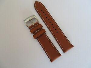 FOSSIL Original Ersatz Lederarmband FS5060 Uhrband watch strap braun 22 mm
