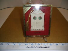 2000 Lenox Usa Annual First Year in New Home Christmas Tree Ornament - Euc