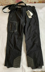 Men's Titanium Columbia Wayerproof/Breathable Black Noir Pants Size XXL Rgular