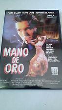 "DVD ""MANO DE ORO"" BEN BOLT MATT DILLON DIANE LANE TOMMY LEE JONES COMO NUEVA"