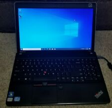 Lenovo ThinkPad Edge E530 Intel i5 2450M 2.50GHz 8GB 120GB SSD Win 10 Pro