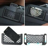 Universal Car Seat Back Mesh Net Storage Bag Phone Holder Pocket Organizer S/L