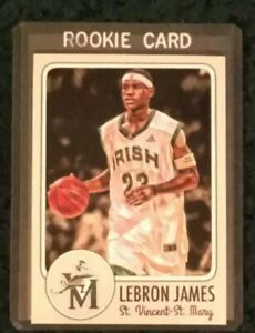 2002-03 LeBron James Rookie Card St. Mary's High School RC RARE🏀 Cavs, Lakers