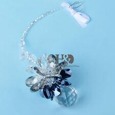 Crystal Suncatcher Coloful Hanging Ornament Flower Shaped FENG SHUI Pendant