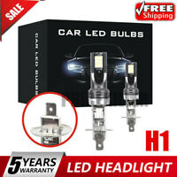 2x H1 CAR LED Headlight Kits 110W 20000LM FOG Light Bulbs 6000K Driving DRL Lamp