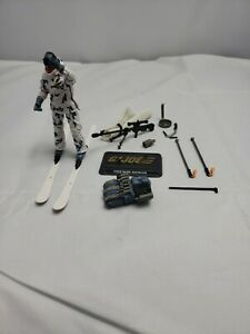 "Snowjob  from the  2 Pack GI JOE 30th Anniversary 3.75"" Figure missing can"