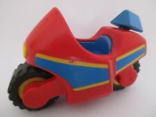 MOTO PLAYMOBIL 123 - MOTO ROUGE set 6712 PLAYMOBIL 123 - 1993